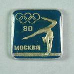 Badge, 1980 Olympic Games - Gymnastics