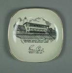 Plate, Yorkshire County Cricket Club - Brian Close Benefit Year 1961