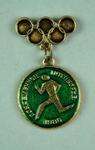 Badge, 1980 Olympic Games - Modern Pentathlon (Running)