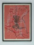 """Drawing, """"Figure Drawing #3"""" by John Hinds"""