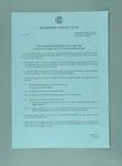 Notice regarding nomination of female members to Melbourne Cricket Club, 1983