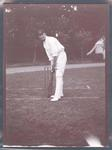 Photograph from Frank Laver's photograph album, Monty Noble - Australian cricket team tour of England 1909