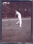 Photograph from Frank Laver's photograph album, Charles Macartney - Australian cricket team tour of England 1909