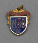 Melbourne Cricket Club membership medallion, season 1927/28