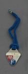 Melbourne Cricket Club membership badge & cord, season 1983/84