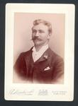 Photograph from Frank Laver's photograph album, unidentified man