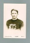 Postcard featuring image of footballer Horrie Clover, c1923