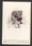 Photograph from Frank Laver's photograph album, unidentified woman - 19 Sept 1899