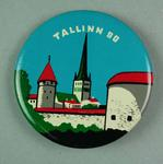 Badge, 1980 Olympic Games - Tallinn