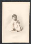 Photograph from Frank Laver's photograph album, unidentified baby