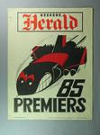 WEG poster for 1985 VFL Premiership, won by Essendon