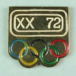 Badge, 1972 Olympic Games
