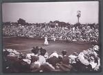Photograph from Frank Laver's photograph album, Wimbledon tennis tournament - 1905