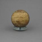 Cricket ball, used during Victoria v England match - Nov 1882