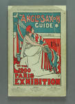 """Programme, """"Anglo-Saxon Guide to the 1900 Paris Exhibition"""""""