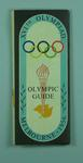 Map - 'Olympic Guide', XVIth Olympiad, Melbourne 1956