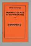 Programme - Swimming Programme, Rules & Regulations, 1912 Stockholm Olympic Games
