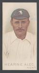1982 Wills' Cigarettes Cricketers A Nostalgia Reprint Hearne Alec trade card