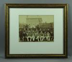 Sepia photograph, Australian XI - 1886 Tour of England