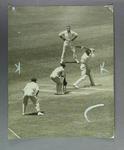 Photograph of Keith Rigg batting, Victoria v South Australia at MCG c1920s-30s