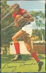 1965 Mobil VFL Footy Photos Barry Bourke trade card