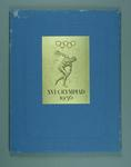 "Book, ""XVI Olympiad 1956"" - Melbourne Organising Committee's Invitation Book"