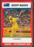 1990 Stimorol Cricket Stumpers Competition Geoff Marsh trade card