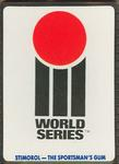 1990 Stimorol Cricket Stumpers Competition World Series trade card