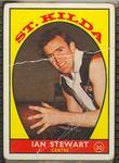 1968 Scanlen's Gum Australian Football - Series A, Ian Stewart trade card