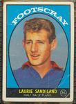 1968 Scanlen's Gum Australian Football - Series A, Laurie Sandilands trade card