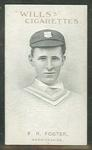 1911 W D & H O Wills Australian and English Cricketers F R Foster trade card
