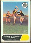 1969 Scanlen's Gum Australian Football, Richmond FC trade card