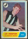 1969 Scanlen's Gum Australian Football, Len Thompson trade card