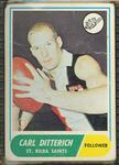1969 Scanlen's Gum Australian Football, Carl Ditterich trade card