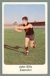 1971 Sunicrust Australian Football, John Ellis trade card