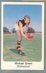 1971 Sunicrust Australian Football, Michael Green trade card