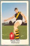 1971 Sunicrust Australian Football, Royce Hart trade card