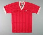 """Red Puma """"Leeds"""" soccer shirt"""