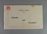 Booklet, Ardmore College Calendar & Prospectus 1949