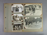 Page from photo album, Australian Athletic Team Tour to New Zealand 1949