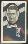 1933 Allen's Australian Football Fred Hawking trade card