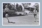 Photograph of Shirley Strickland competing in a race in Leederville, Nov 1951