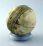 Cricket ball, used in 1992 World Cup Final