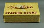 Lyre Bird Sporting Goods box, lid & dividers