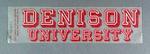 Sticker - Denison University