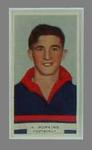 1933 Godfrey Phillips Victorian Footballers A Hopkins trade card
