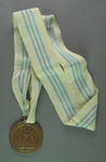 Bronze medal won by Shirley Strickland in 200m event, 1955 International Friendly Sports Meeting of Youth