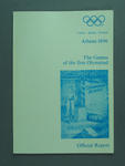 Report - Athens 1896 Official Report, The Games of the first Olympiad