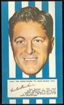 1953 Argus Football Portrait Gerald Marchesi trade card