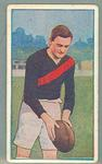 1922 Magpie Cigarettes Victorian League Footballers Tom Fitzmaurice trade card